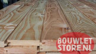 Douglas plank tong en groef GG deel werkend 21x108mm