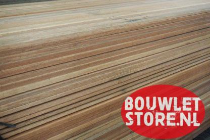 Meranti hardhout plint 12x45x2.250mm